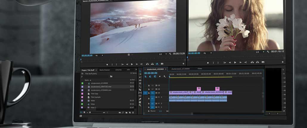 La post-produzione e il montaggio delle immagini video per il tuo filmato